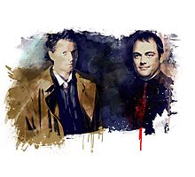 Cas & Crowley Photographic Print