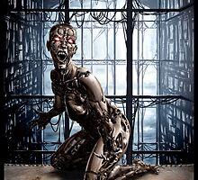 Cyberpunk Painting 031 by Ian Sokoliwski