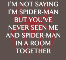 I'm Spider-man by caramorgan