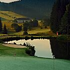 Summer morning at the golf club | landscape photography by Patrick Jobst