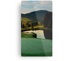 Summer morning at the golf club | landscape photography Metal Print