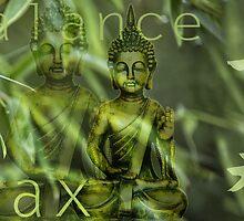 Bamboo Buddha by artsandsoul