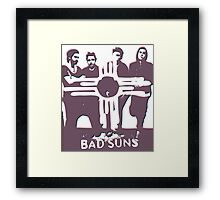 Bad Suns, BRUH Framed Print