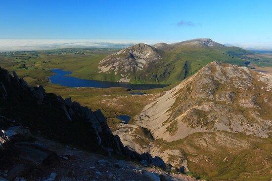 Eastern View From Errigal by Adrian McGlynn