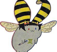 Flying Sollux Capbug! by GeishaSunrise