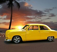1950 Ford Coupe 'San Diego Sunset' by DaveKoontz
