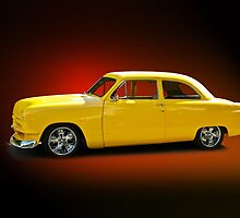 1950 Ford Coupe 'Studio Red' by DaveKoontz