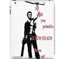 Army of Darkness- Screw Heads iPad Case/Skin
