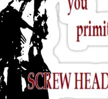 Army of Darkness- Screw Heads Sticker