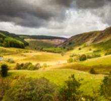 A Welsh Landscape Sticker