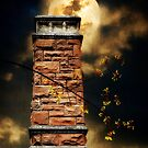 Tower By Moonlight by Christine Lake