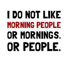 Morning People by AmazingMart