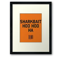 Sharkbait Framed Print