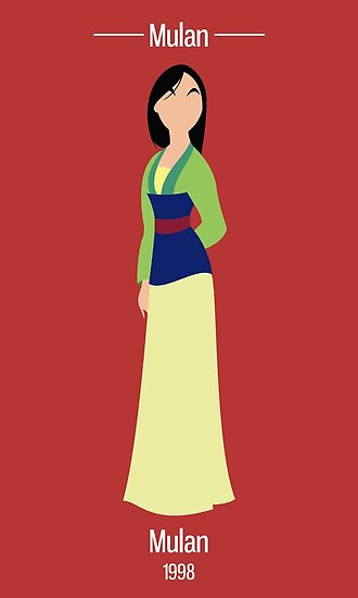 Mulan Illustration by realGabe