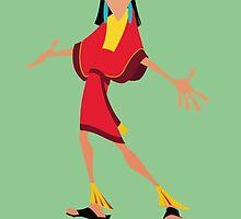 Kuzco Illustration by realGabe