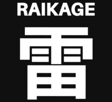 Kage Squad Jersey: Raikage by ngud