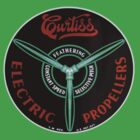 Curtiss Propeller Logo Repro by warbirdwear