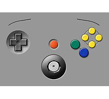 N64 Buttons Photographic Print