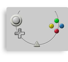 Dreamcast Buttons Canvas Print