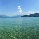 Lake Annecy from the West Side by cadellin