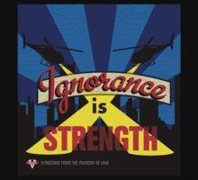 Ignorance Is Strength 1984 George Orwell T-Shirt