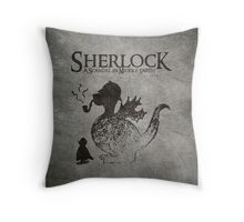 Sherlock: A Scandal in Middle-earth Throw Pillow
