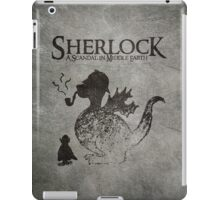 Sherlock: A Scandal in Middle-earth iPad Case/Skin