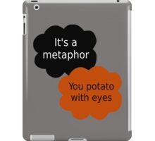 "Orange is the New Black - ""It's a metaphor"" iPad Case/Skin"