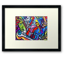 Musical Instruments Framed Print