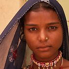 Young Rajasthani Woman by indiafrank