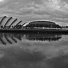 Glasgow - River Clyde Panorama by David Alexander Elder