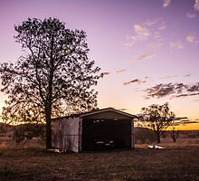 Sheds & sunsets by Candice84