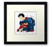 The last son of Krypton Framed Print