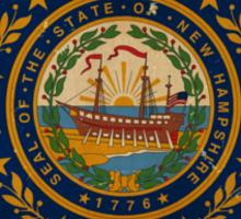 New Hampshire State Flag VINTAGE Sticker