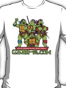 G33k-e.com - TMNT Parody T-Shirt
