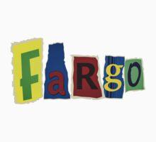 Fargo Blackmail Letter Ransom Note T-Shirt