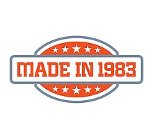 Made in 1983 by artpolitic