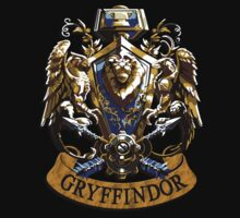 Gryffindor Mashup Lion shield eagle Hammer and an Arrow by Latifa Salma lufa Poerawidjaja