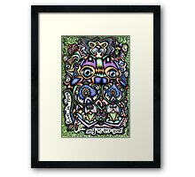 310112 Don't Sink In Fear, Run In Hope Framed Print
