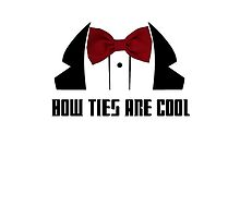 Bow Ties Are Cool by James Price