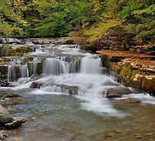 The Roar of Falling Water by JHRphotoART