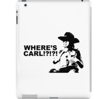 Where's Carl? iPad Case/Skin