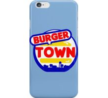 Burger Town (MW2/MW3) iPhone Case/Skin