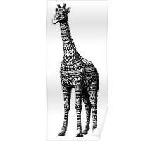 Ornate Giraffe Poster