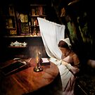 Working by Candlelight  by PictureNZ