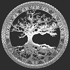 Celtic Tree of Life, Yggdrasil [Silver] by Captain7
