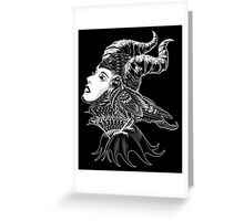 Malificent Tribute Greeting Card