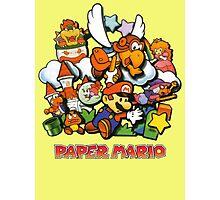 Paper Mario Photographic Print