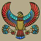 Sacred Egyptian Falcon by Captain7