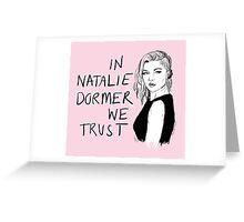 Natalie Dormer Greeting Card